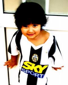 Juventus ajándék a gyerekeknek