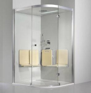 A zuhanykabin kényelmes tisztálkodást tesz lehetővé